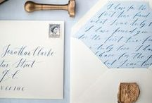 Wedding Stationery We Love! / Inspirational Wedding Stationary!
