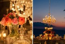 Sunset Opulent Grandeur @Wedding Private Villa in Mykonos / A cosmopolitan chic wedding with the famous Mykonian sunset as the perfect background! by De Plan V