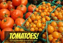 Co-op Market Goods / Beautiful produce, colorful fruits, organic goodness, local meats, wild-caught seafood… All right here at Co-op Market Grocery & Deli.