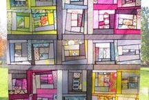 Pink Doxies' Quilts / Original quilts