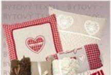 Bytový textil - Sweet Home / Doplňky do venkovského interiéru