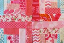 Log Cabin Quilts, Blocks, and Ideas / Log Cabin blocks of all kinds