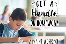 Get a Handle on Homework / It's always the right time for a fresh start! Here are some resources from our instruction team, including info about learning opportunities for parents.