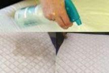 Consejos de limpieza del hogar / Consejos para limpiar muebles, elementos decorativos, colchones...