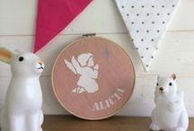 décoration chambre d'enfant / kidsroom / Des univers doux et raffinés repérés de ci de là, pour les chouchous.
