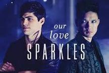 Our love sparkles / Malec and other stuff