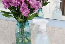 Home Cleaning / Using less chemicals and more natural and safe products, my goal is to make all my cleaning products, ideas to help on that journey