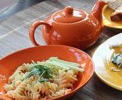 Jídelní keramika - barevné sady