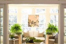 Sunroom / Ideas to create a beautiful space filled with Sun and nature