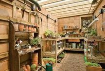 Garden Sheds, Storage and accessories / Helpful ideas and inspiration on having the perfect shed, and storage for all your gardening needs