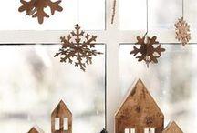 Pinterest - vánoční dekorace v severském stylu - inspirace / Inspirace z pinterestu na vánoční dekorace v severském stylu