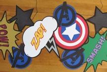 Avengers Party / Ideias e achados para uma Festa dos Vingadores / Avengers