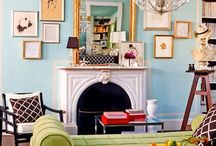 Mantelpiece & fireplace