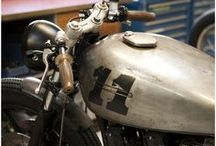 Motocicletas (mi estilo) / sin marcas, solo el disfrute de la libertad / by Irwin Ricardo Garzona García