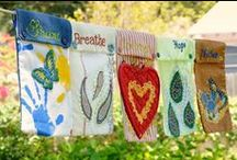 prayer flags / by Susan Wright