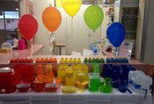 Rainbow party / Rainbow Birthday party