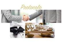 PROTOCOLO / El Protocolo siempre nos facilita la vida, nos ayuda a salir airosos de manera sencilla de cualquier situación por muy complicada que sea.