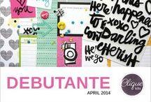 Debutante April 2014 Kit / Clique Kits April 2014 Kit