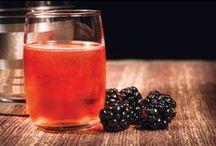 Blackberry Cocktails / Custom cocktails made with the award winning Bird Dog Blackberry Whiskey.