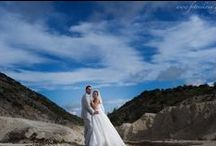 Cute wedding couple in Lefkas Greece / I swear when our lips touch, I can taste the next sixty years of my life!