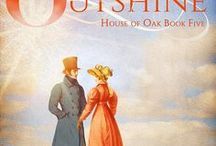 Outshine / Inspiration images for Outshine, book five in my House of Oak series. London, 1828. Daniel Ashton, Lord Whitmoor, and Foster Lovejoy, aging spinster, feel that love has passed them by. Can two kindred spirits find their own happily-ever-after? Pick up your copy of the book on Amazon. http://amzn.to/2psy39b