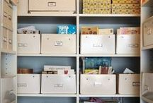 Cupboards organised / by Declutterhome