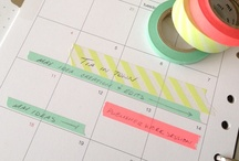 Schedule organised / by Declutterhome