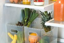 Fridge organised / by Declutterhome