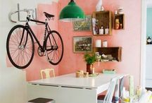 Bicycles organised / by Declutterhome