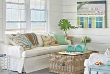 seaglass inspired interiors / Blue and Green