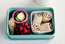 Kids' lunches/snacks organised / by Declutterhome