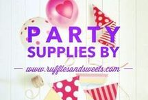 Our Party Supply Products