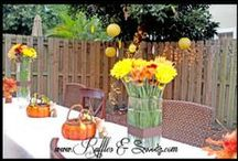 Autumn/Harvest Birthday by Ruffles & Sweets
