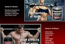 """Body Effects & Reset by Power Performance Products / Sports Nutrition- """"Body Effects"""" Energy product and our New line, """"Reset"""" Energizing, Anti-Aging, Antioxidant product."""
