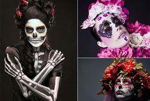 Inspiration <3 Sugar Skull make up