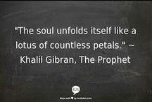 KAHLIL GIBRAN / Quotes & Art by Kahlil Gibran