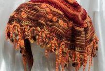 Мои работы / Мои работы - вязание фриформ крючком. Жилеты бохо, круглые жилеты, накидки, украшения.