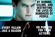 """Villains ❤(; / Every """"villain"""" has a reason or purpose for their actions."""