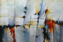 My Abstract Original Paintings / Abstract Paintings and Prints |  markyearwood.com |  nuvango.com/markyearwood