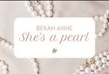 Behind The Brand / Hello there! Thanks for stopping by Bekah Anne.  We are a mother/daughter team who specialize in creating hand crafted, artisan accessories for weddings, special events & everyday occasions of prettiness.