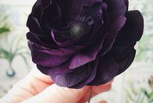 Flores / Flores de papel