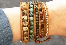 Wrap Bracelets / Wrap Bracelets in every color and stones!