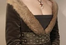 ferelden fashion / Like the medieval style. Fur, wool, linen, armors. Nobility wears nicer materials.