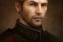 Cullen Rutherford / Cullen Stanton Rutherford. Born 9:11 Dragon in Honnleath. Templar knight in Ferelden Circle of Magi. Tortured when the Circle was under attack by the bloodmages. Knight Captain in Kirkwall and the Knight Commander later. Left the order and joined the Inquisition. Commander of the Inquisition armies.