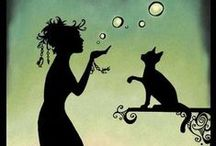 Cats in Art / by Janett Florindo