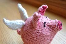 Knitting for Nanny