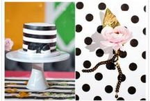 Mod Dotted Wedding / This board is inspired by my Mod Dotted wedding invitation design. Modern, fun, dotted, bright, classic