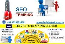 SEO/PPC/SMO Training Institute in Gurgaon /   We are providing SEO/PPC/SMO training in Gurgaon. Contact: 09718235606, training@abolsitsolutions.com