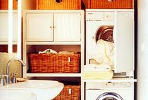 Decor Ideas Laundry Room / Ideas to revamp and organize your laundry. / by Lena Tibballs
