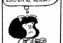 Mafalda; una niña inteligente!
